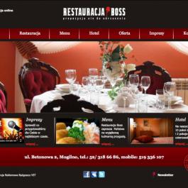 Restauracja i Hotel BOSS w Mogilnie
