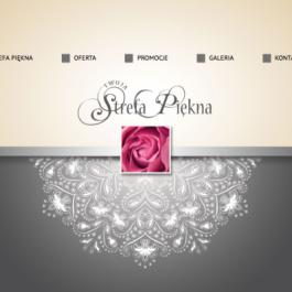 Strona internetowa o kosmetyce