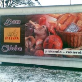 Baton dom chleba piekarnia-cukiernia